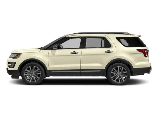 2017 Ford Explorer Mpg >> 2017 Ford Explorer Platinum 4wd Serving Lander Wy Casper Rawlins